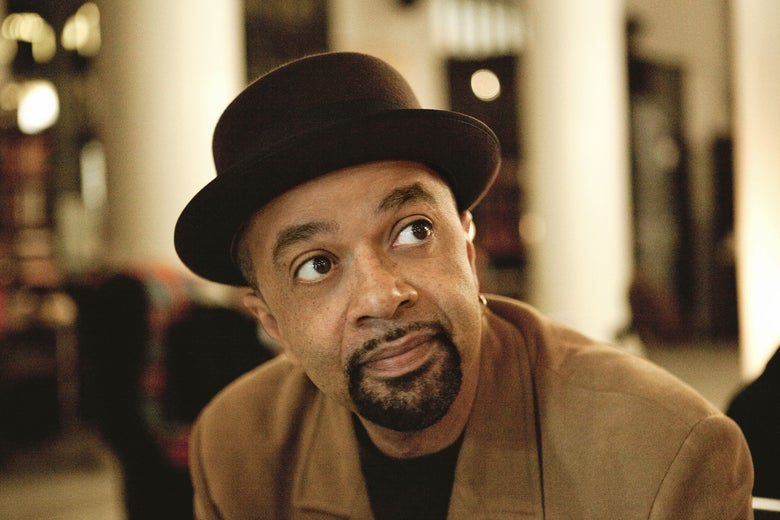 A photo of James McBride.