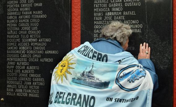 The Falklands' New Boss