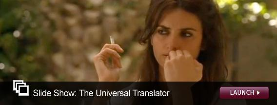 Click here to launch a video slide show on foreign speech in Hollywood movies.