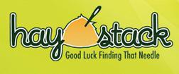 Haystack logo.