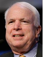 Sen. John McCain          Click image to expand.