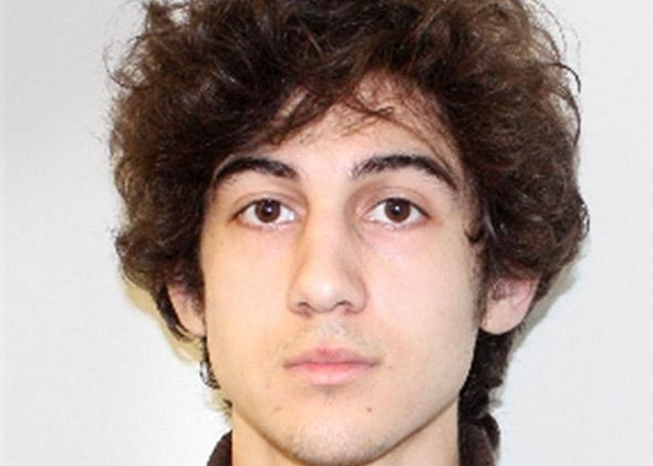 Dzhokhar Tsarnaev suspect in the Boston Marathon bombing.
