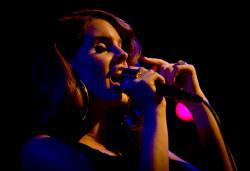 US Singer Lana del Rey.