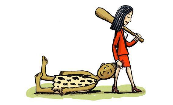 Illustration by Robert Neubecker.