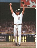 Photograph of Detroit Tigers pitcher Todd Jones