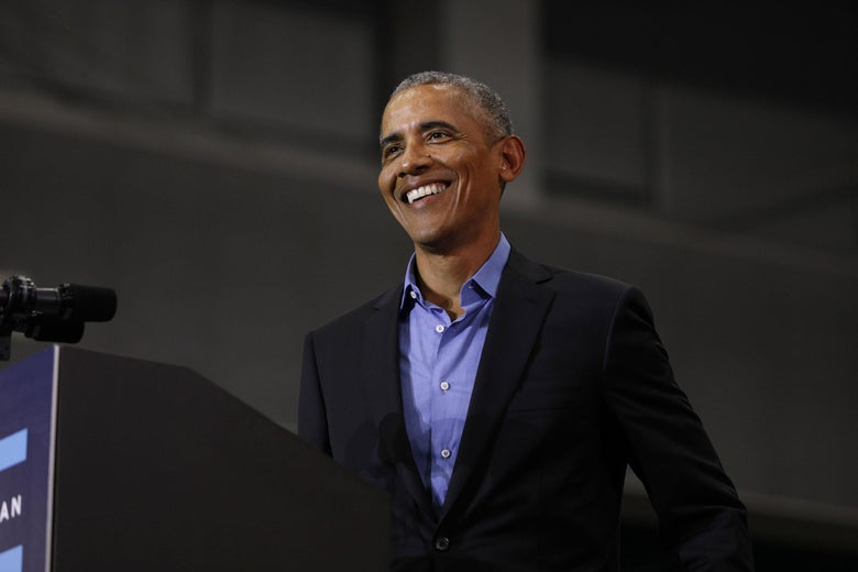 """Obama Slams Trump in Impassioned Speeches: """"Nobody in My Administration Got Indicted"""""""