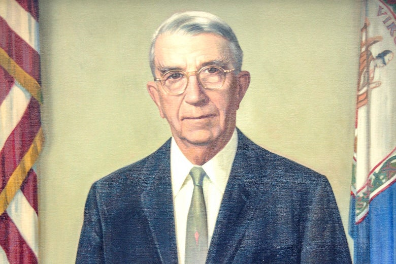 Portrait of Howard W. Smith, member of the United States House of Representatives.