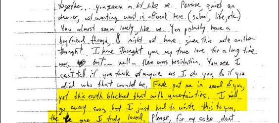 Dylan Klebold In Love