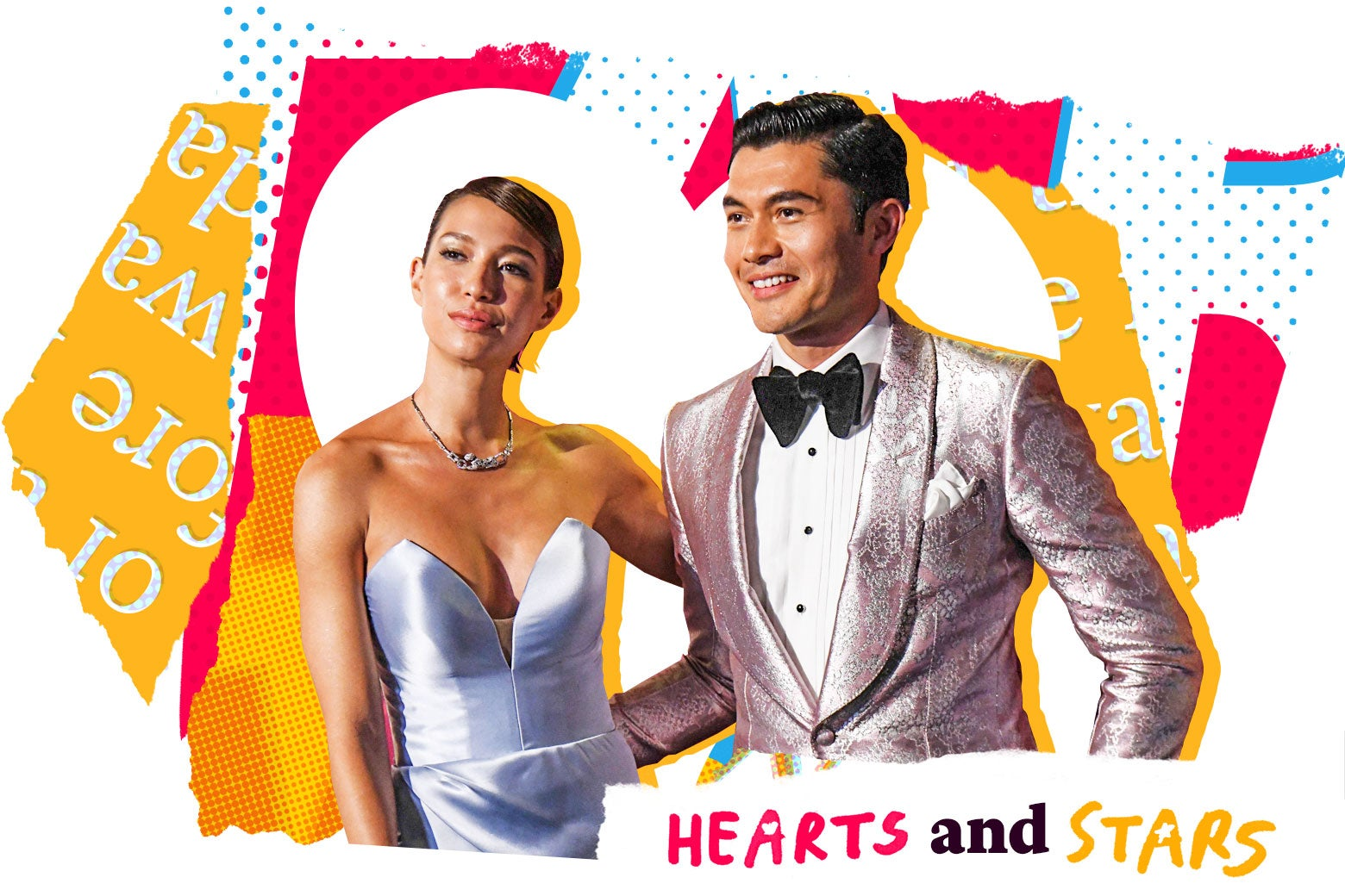 Liv Lo and Henry Golding.