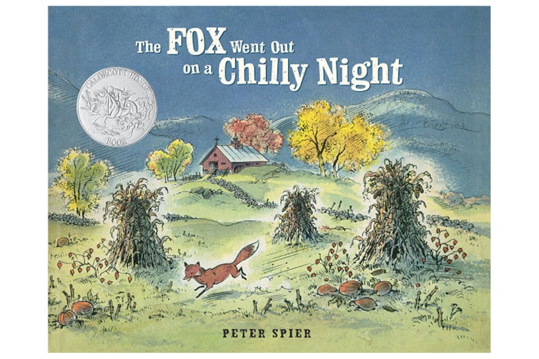 The Fox Went Out on a Chilly Night book cover.