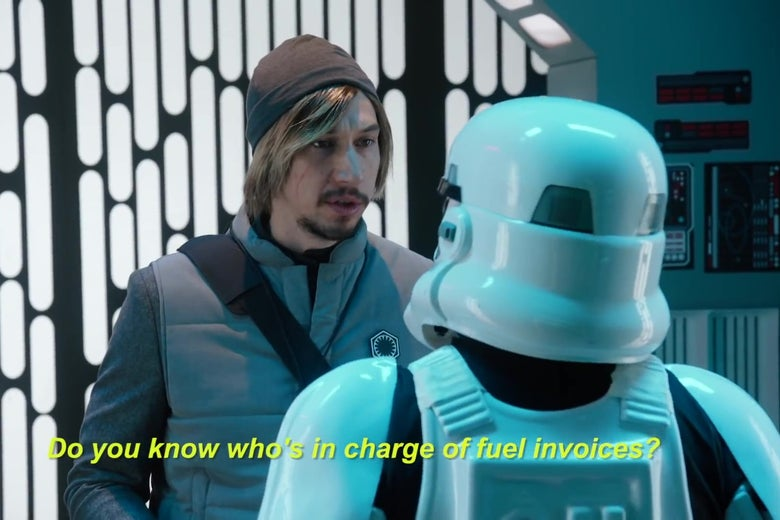 Adam Driver Revisits Kylo Ren's Disastrous Stint on Undercover Boss