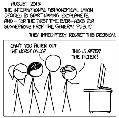 xkcd and planet names