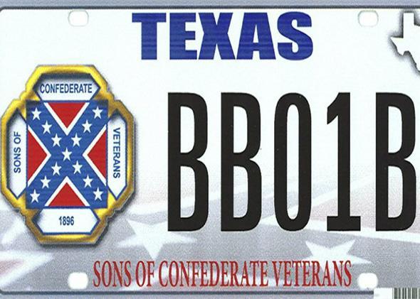 Texas Plate.