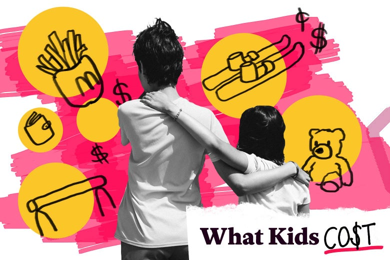What Kids Cost: How much does a mom of two spend on her kids