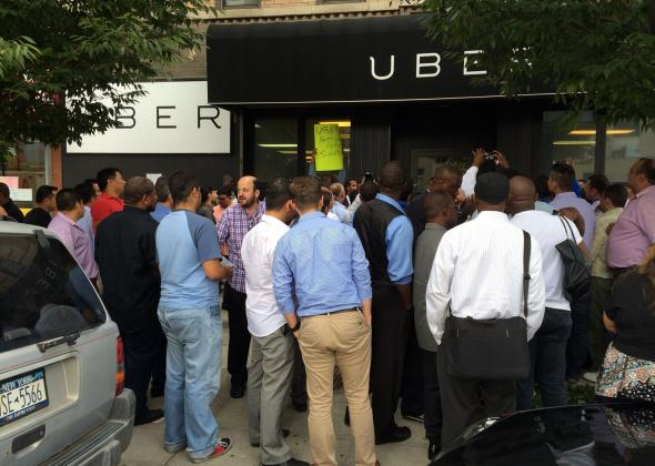 Uber drivers strike: They protested cheap UberX fares  Uber backed down