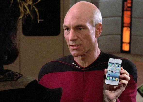 Captain Jean-Luc Picard.