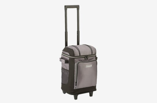 Coleman 42-Can Wheeled Soft Cooler With Hard Liner.
