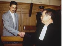 Omar Radad and Jacques Vergès. Click image to expand.