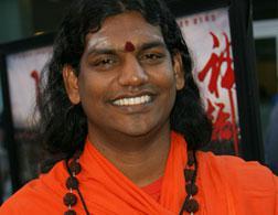 Guru Paramahamsa Nithyananda. Click image to expand.