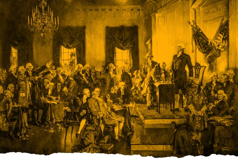 Illustration of the Constitutional Convention.