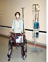 Here I am post-transplant
