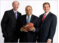 ESPN Monday Night Football crew. Click image to expand.