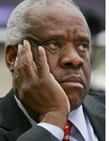 Clarence Thomas. Click image to expand.