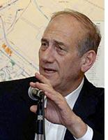 Israeli Prime Minister Ehud Olmert. Click image to expand.
