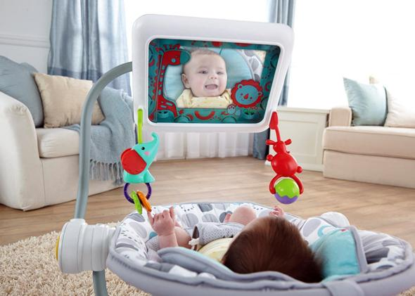 The Fisher-Price iPad Apptivity Seat, Newborn-to-Toddler