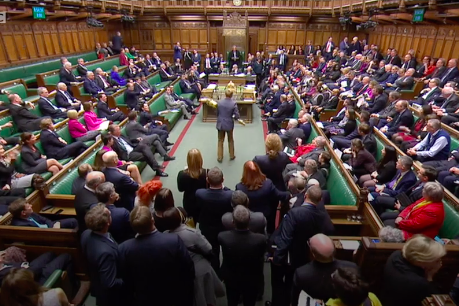 Mp Grabs Royal Mace From Parliament Floor In Symbolic