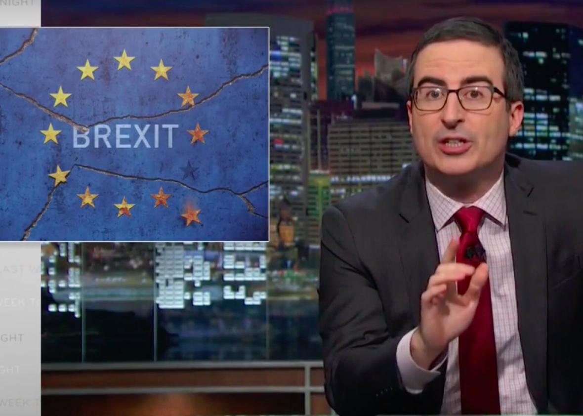 John Oliver on Brexit