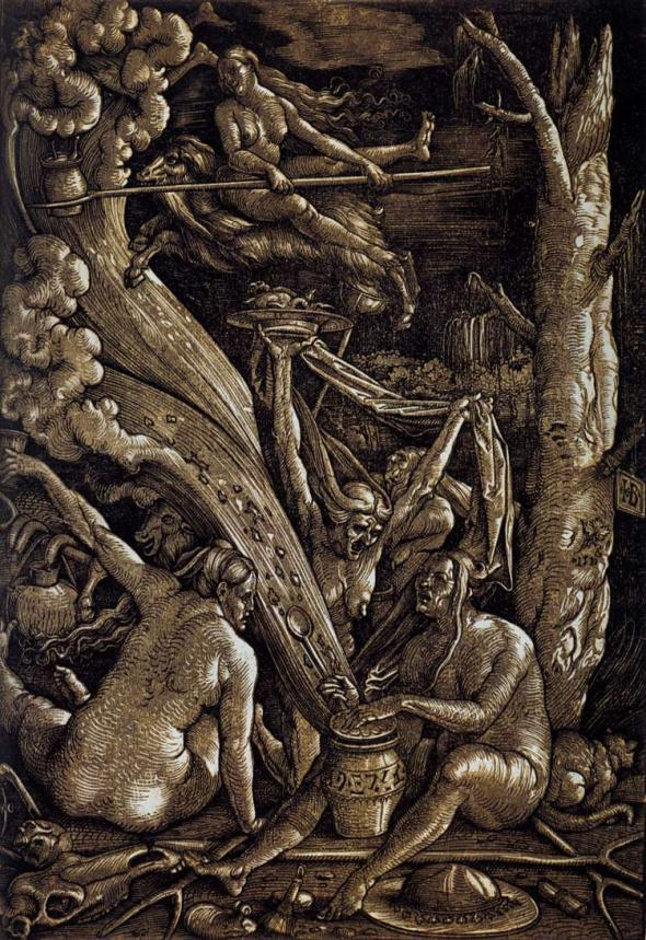 Hans Baldung's The Witches Sabbath