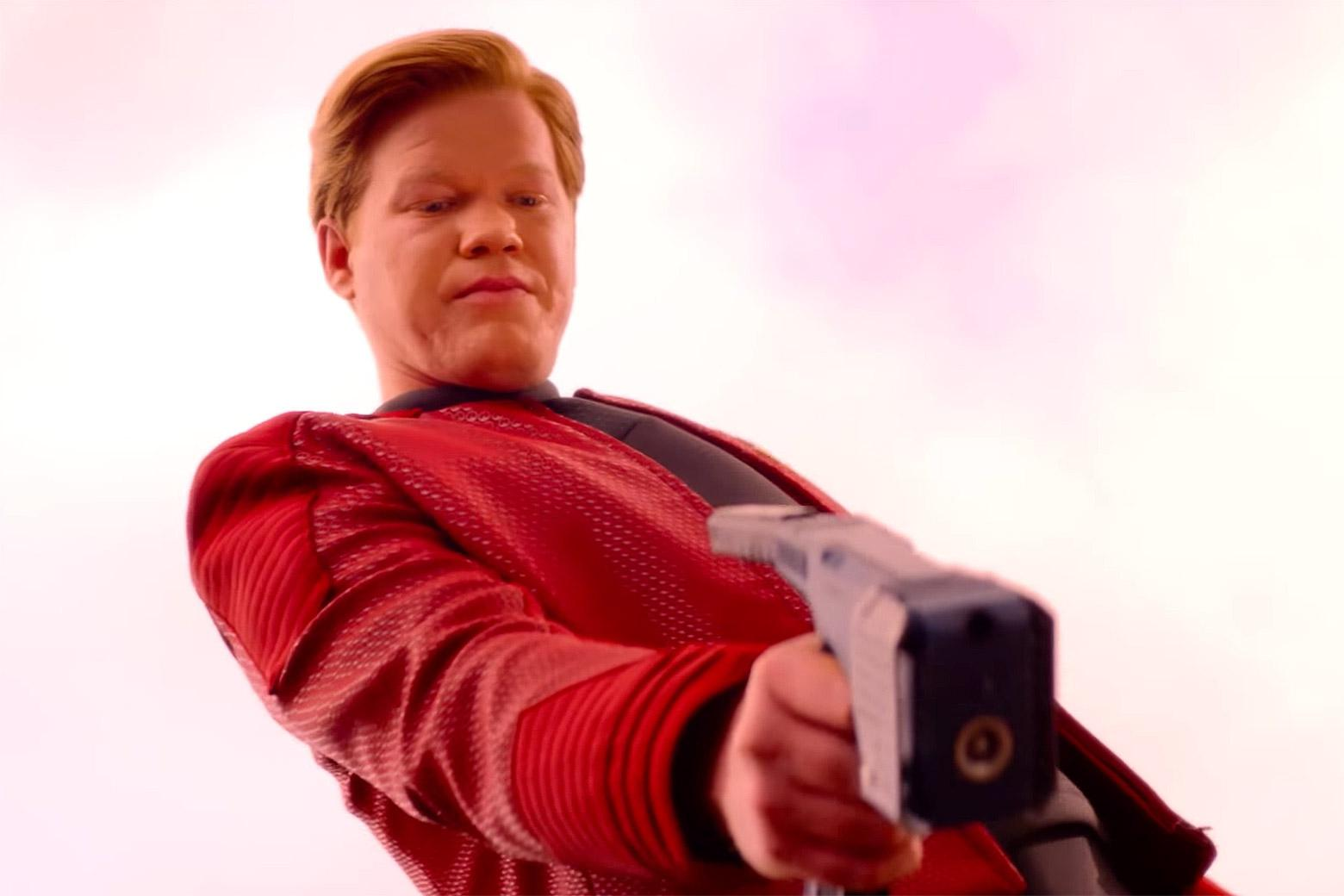 "Jesse Plemons as Captain Daly in the ""USS Callister"" episode in Season 4 of Black Mirror."