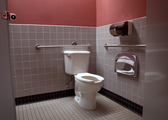 lick a toilet.