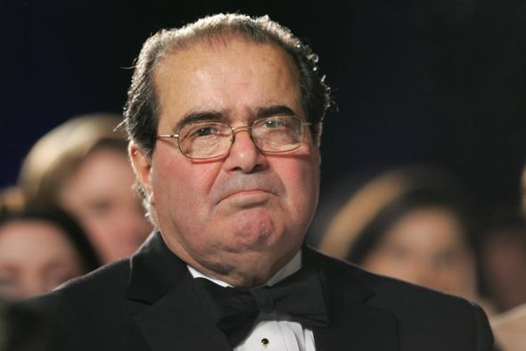 Justice Antonin Scalia in 2007
