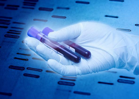 Genetic tests extracted from blood