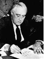 FDR: at war abroad and in Washington