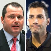 Roger Clemens and Andy Pettitte. Click image to expand.