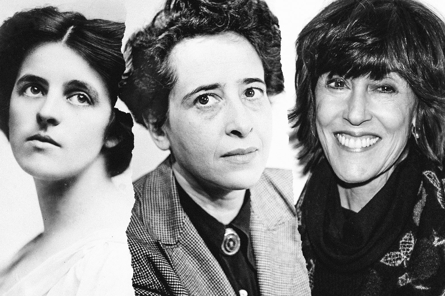 Dorothy Parker, Hannah Arendt, and Nora Ephron.