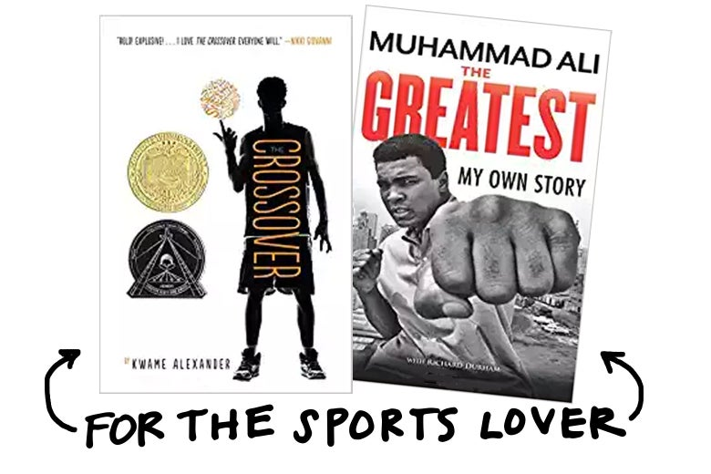 For the sports lover, try The Greatest: My Own Story by Muhammad Ali.