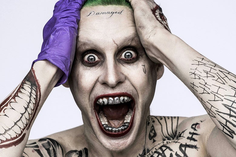 What It Took For Justice League's Joker to Get Those Face Tattoos Removed