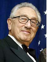 Kissinger can direct his scheming toward Rumseld now