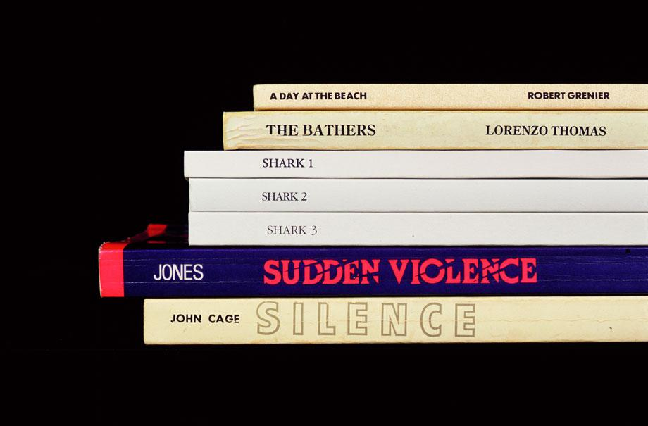 "Nina Katchadourian's ""Sorted Books"""