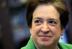 :  U.S. Supreme Court nominee, Solicitor General Elena Kagan. Click image to expand.