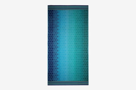 Cotton Craft Oversized Jacquard Double Woven Velour Beach Towel.