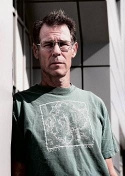 Author Kim Stanley Robinson.