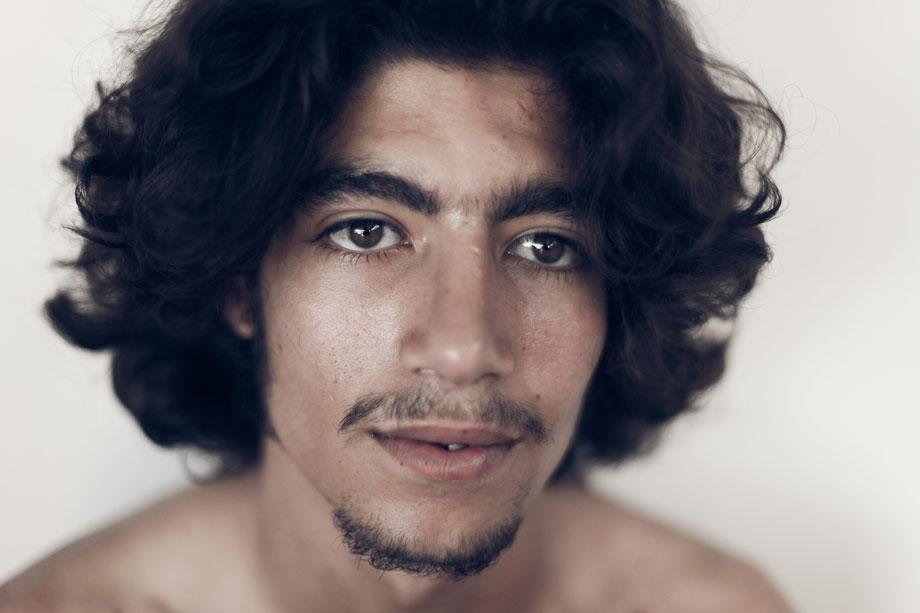 Tamara Abdul Hadi, picturing arab men, Yassine, Moroccan