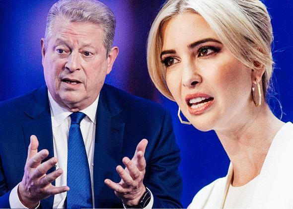 Al Gore, Ivanka Trump.