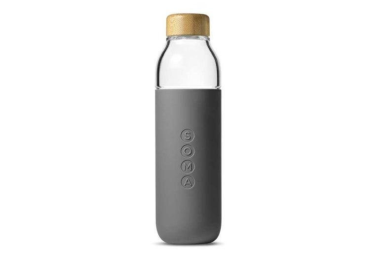 Soma glass bottle.