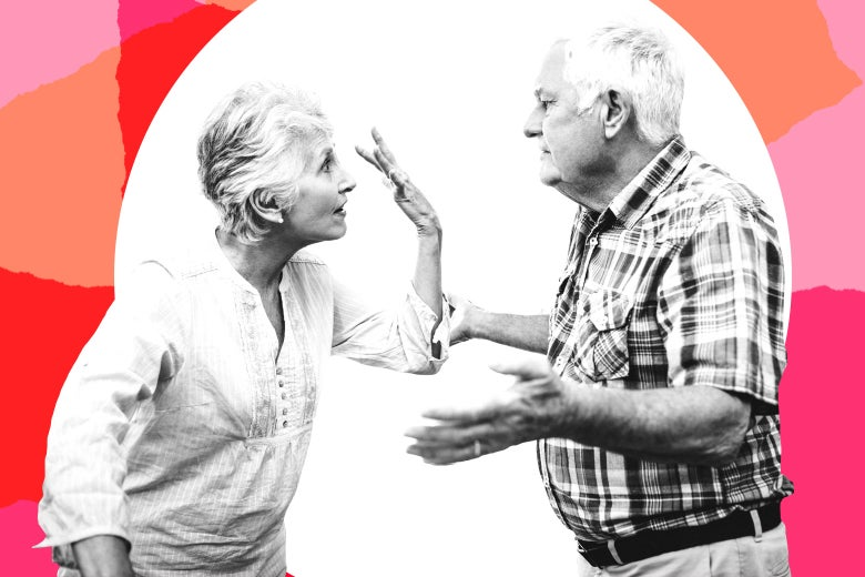 Grandparents fighting